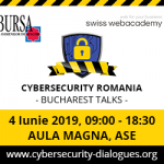 "Conferința ""Cybersecurity Romania – Bucharest Talks"""