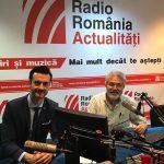 """Prezentarea studiului """"Provocări actuale în domeniul securității cibernetice"""" la Radio România Actualități"""