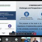 """Prezentarea cărții """"Securitatea cibernetică: Provocări și perspective în educație"""" la conferința Universității """"Dunărea de Jos"""" din Galați"""